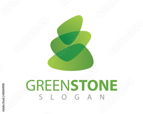 quotabstract logo stone logoquot stock image and royaltyfree