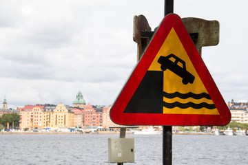 Swedish Danger sign