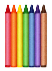 Large Generic Blank Crayons