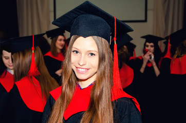 girl student, a graduate of the University of