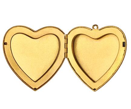 Picture Frame - Open Heart Locket