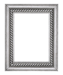 Silver Grey Rope Picture Frame