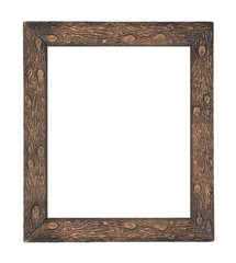 Worn Log Picture Frame