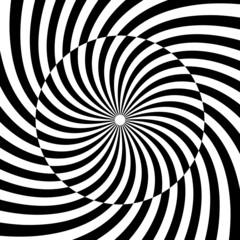 Keuken foto achterwand Psychedelic Spiral, swirl, twirl, vortex background