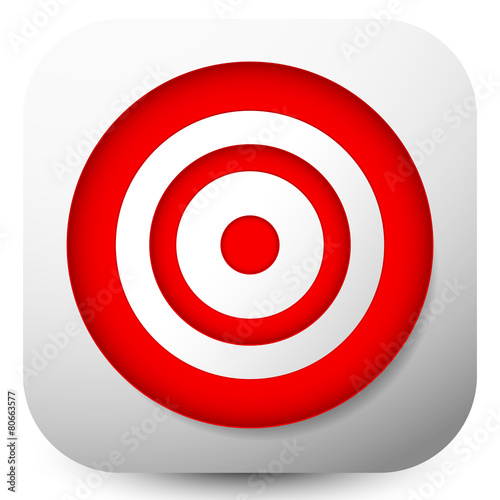 Red Target Icons Stock Image And Royalty Free Vector Files
