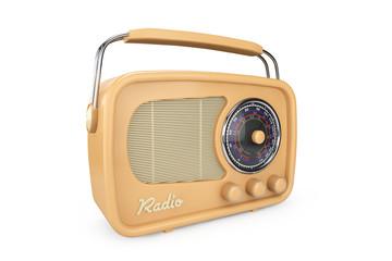 Closeup Vintage Radio