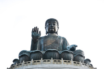 Tian Tan Giant Buddha in Hong Kong