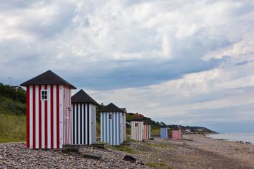 Badehäuschen am Strand von Rageleje - Dänemark 14
