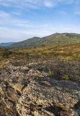 Республика Башкирия. Уральские горы в начале осени.