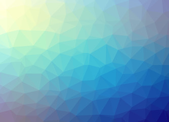 Abstract vector background low poly pattern illustration.