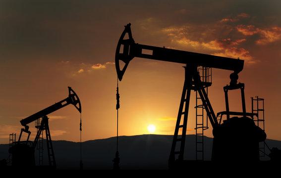 oil well farm