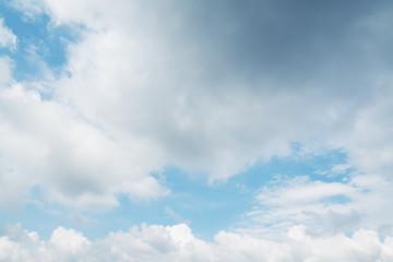 huge soft clouds