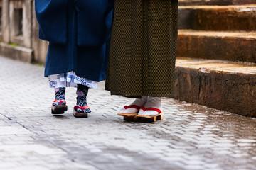 Geta traditional Japanese footwear