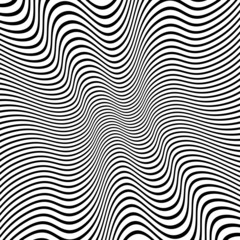 Distorted Lines Vector Background
