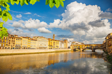 Wall Mural - Arno river in Florence