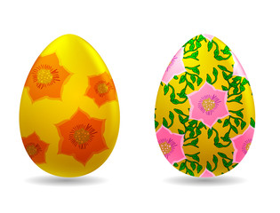 Vector illustration - easter eggs