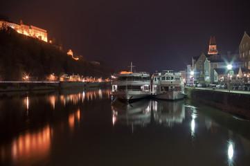 Nacht auf der Donau