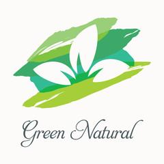 Green nature illustration 4.