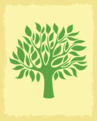 Vector illustration. Tree.