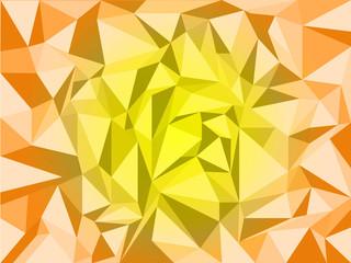 Orange geometric texture