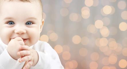 beautiful happy baby