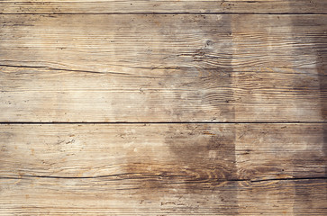 Obraz Wooden boards with texture as clear background - fototapety do salonu