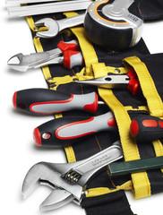 Tool belt close-up