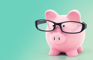 Piggy Bank. Financial Research