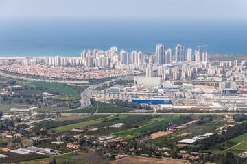 Netanya aerial view