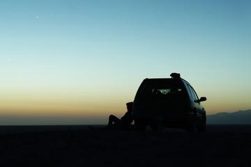 Sunrise in canyon
