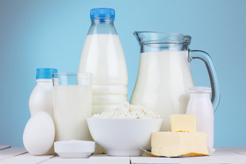 Natural organic dairy products