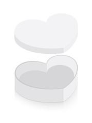 Heart Gift Box Vector