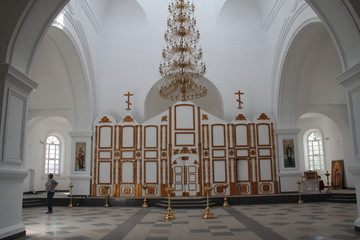 The iconostasis without icons