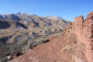 Iran - mountains of Abyaneh