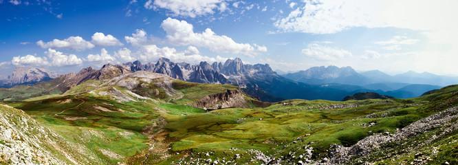Beautiful Alpine Landscape n Italy Wall mural