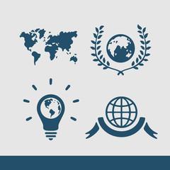 Symbol set Planet