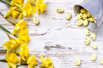 Wielkanocne życzenia z pisankami