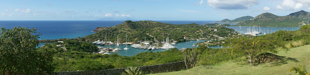 English Harbour and Nelsons Dockyard, Antigua, Karibik