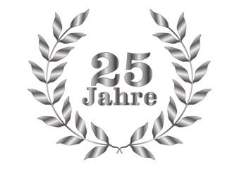 25 Jahre Jubiläum, Silber