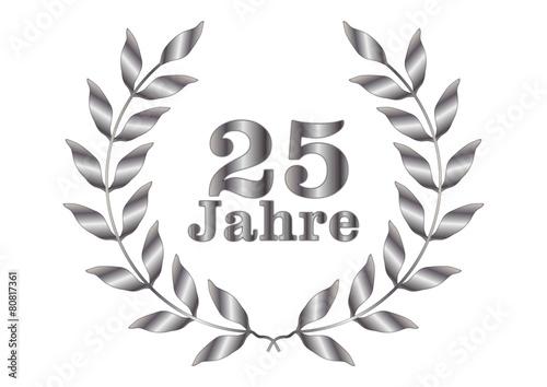 25 Jahre Jubilaum Silber Stockfotos Und Lizenzfreie Bilder Auf