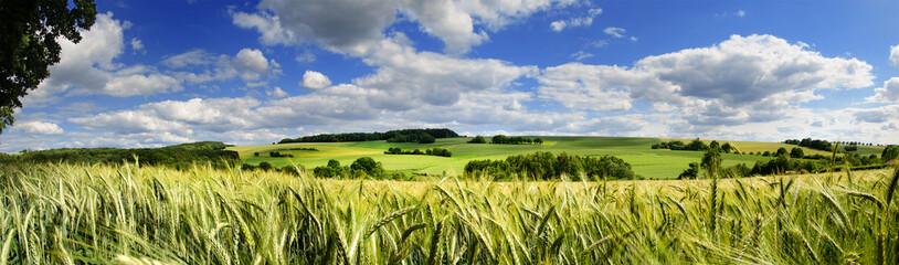 Saarland Panorama Natur –Landschaft bei Eiweiler