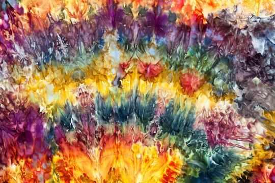 fabulous dyed fabrics by Leah Fawthrop