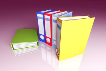 Colored Folders.