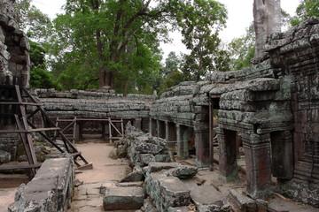 Banteay Kedi Temple in Angkor, Siem Reap, Cambodia