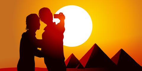SELFIE - Soleil Pyramides