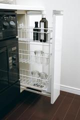 システムキッチン スパイラルラック 調味料ラック