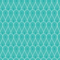 Abstract geometric pattern drop