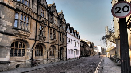 A street in Oxford