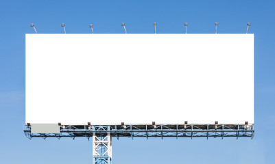 Billboard photos royalty free images graphics vectors videos blank billboard ready for new advertisement with blue sky backgr stopboris Images