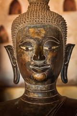 Ancient Buddha in Vientiane, Laos